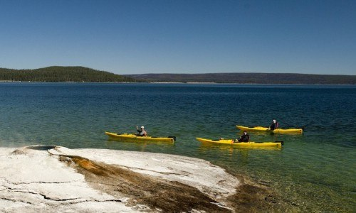 Full Day Yellowstone Lake Kayaking Trip