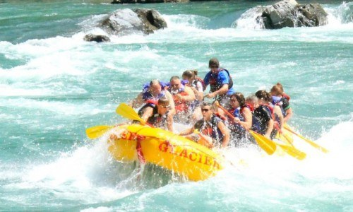 Flathead Whitewater Rafting (Half Day)