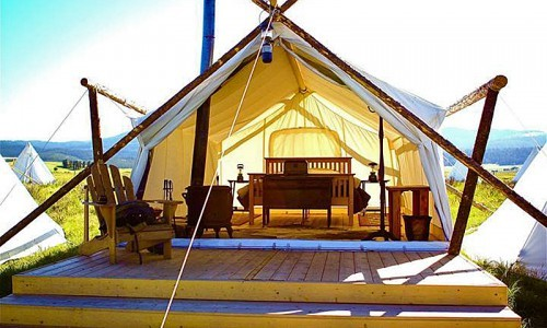 Deluxe Safari Tents