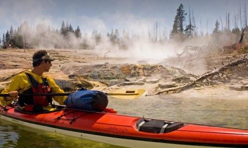 1/2 Day Yellowstone Lake Kayaking
