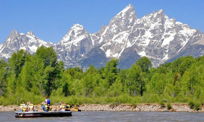 Grand Teton National Park Scenic Float Trip