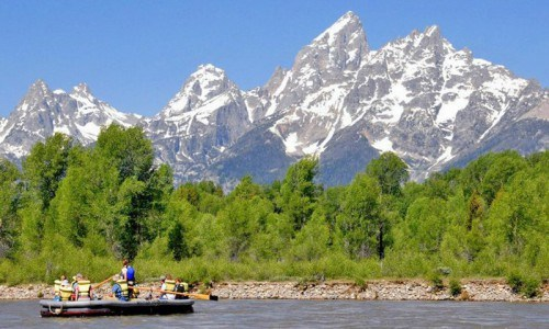 Grand Teton National Park Scenic Float Trip