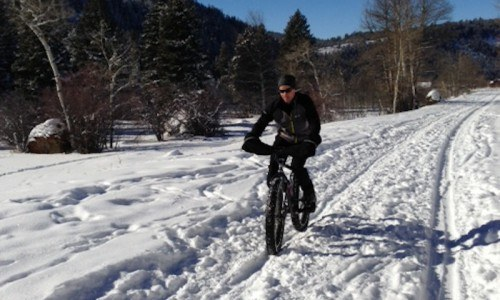 Winter Bike Tour