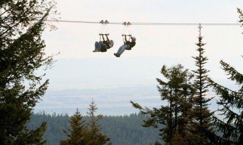 Whitefish Mountain Zipline Tour
