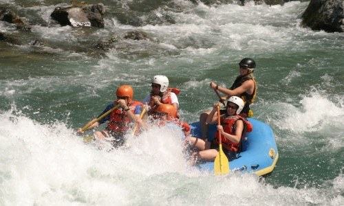 Half Day Whitewater Rafting and BBQ Dinner on the Flathead River