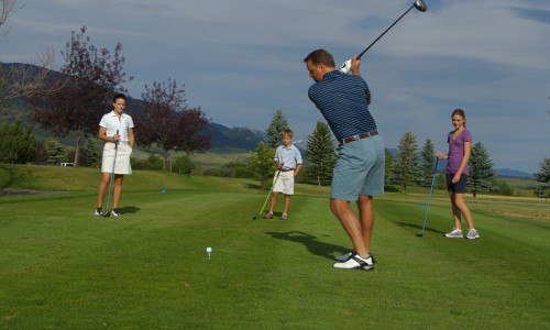 Red Lodge Mountain Golfing