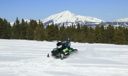 Full Day Snowmobile Tour