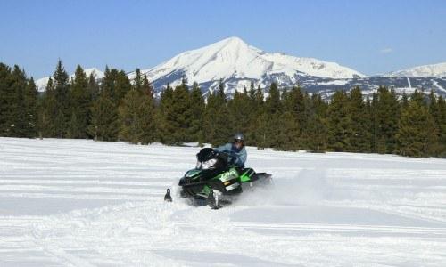 Full Day Snowmobile Tour