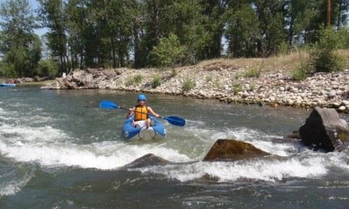 Infatable Kayaking Trip (Half Day)