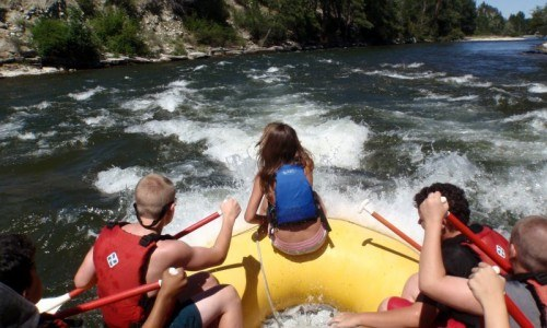 Stillwater Rafting Trip (Half Day)