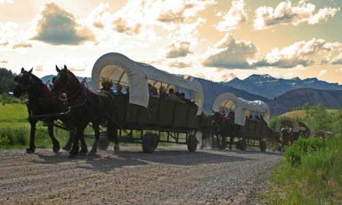 Chuckwagon Dinner Ride